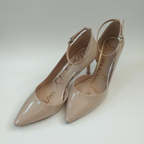 0937ffd5be95 Sam Edelman Tia Nude Ankle Straps Heels. M 5b5a4acbd6dc52f049667c1f